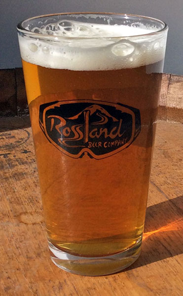 Rossland Beer Company Four on the Floor IPA