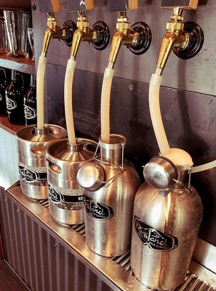 Rossland Beer Company Growlers
