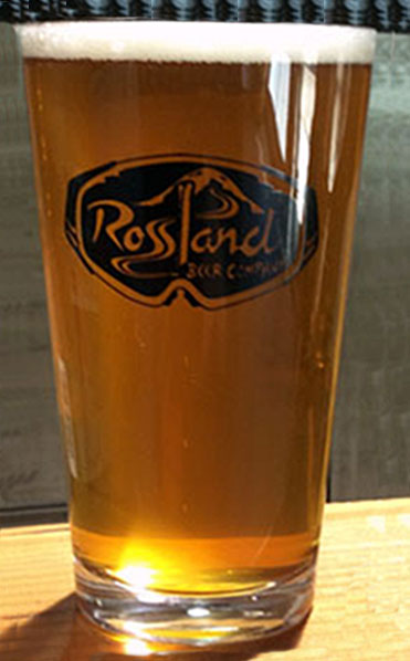 Rossland Beer Company Paydirt Pale Ale